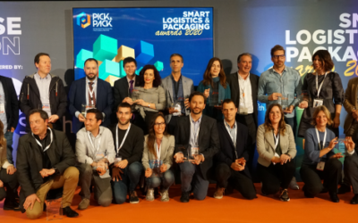 Entrega de premios Smart Logistics & Packaging wards 2020 en Pick&Pack- Revista IDE